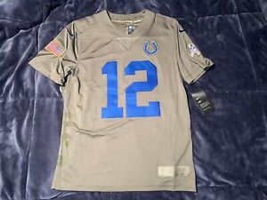 Andrew Luck Indianapolis Colts Salute to Service Limited Military Jersey - M