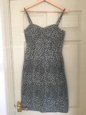 Brand New Animal Leopard Print Pencil Dress Size 8