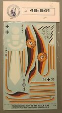 Tauro Decals 1/48 LUFTWAFFE POST WAR-ANNIVERSARY-TORNADO-F104G 48-541