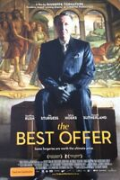 Promotional Movie Flyer *NOT A DVD* The Best Offer Geoffrey Rush