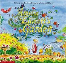 NEW AMELIA ELLICOT'S GARDEN Childrens Soft Cover Picture Book STAFFORD KING