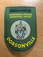 SOUTH AFRICA PATCH POLICE DOBSONVILLE - ORIGINAL