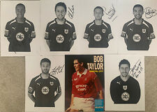 More details for 7 x bristol city signed a4 pictures