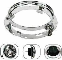 "7"" Inch LED Headlight Adapter Mounting Ring - Bracket Head Lamp Motor Round 1pc"