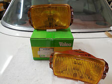 Cibie type 175 vintage amber fog concave lens units (pair) Geniune, new in box