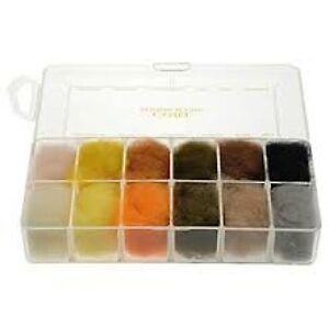 Wapsi Dubbing, Dispender,  30 Colour Cube