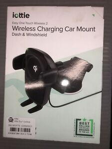 iOttie Wireless Car Charger Easy One Touch Wireless Qi Charging Dashboard Mount