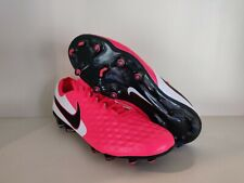 New listing Men's Nike Tiempo Legend 8 Elite FG Crimson Red Size 9 AT5293-606 NEW