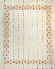 Indian Gabbeh 8 x 10 Hand Knotted Carpet Rug by INDIPORT