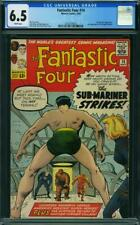Fantastic Four #14 CGC 6.5 -- 1963 -- Sub-Mariner. Puppet Master #2030256025