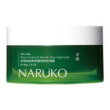 Naruko Tea Tree Shine Control & Blemish Clear Night Gelly 80g Acne Treatment
