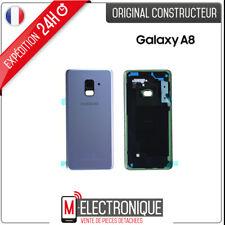 Vitre arrière Violet / Orchidée Original Samsung Galaxy A8 2018 SM-A530F