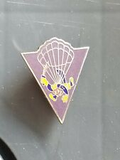 Early War WWII US Army 515th PIR Parachute Infantry Regiment NH Screw Post!! DUI