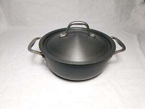 Calphalon Commercial 3 qt Chef's Pan, 143, Anodized Aluminum