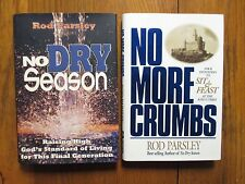 "2-ROD  PARSLEY Signed Books(""NO MORE CRUMBS/NO DRY SEASON""-1st Edition Hardbacks"