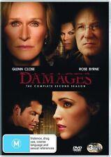 Damages : Season 2 (DVD, 2009, 3-Disc Set) BRAND NEW SHRINK WRAP BARGAIN PRICE