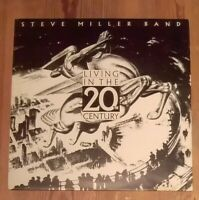 Steve Miller Band ‎– Living In The 20th Century Vinyl LP Album 33rpm 1986