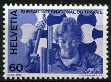 Svizzera INT. UFFICIO DEL LAVORO 1975 sg#lb103, 60c Macchina di perforazione Gomma integra, non linguellato #d45859