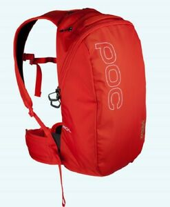 2015 POC VPD 2.0 Spine Snow Pack 16L Nitrogen Red Backpack