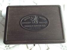 Vintage Griffin & Tatlock Bakelite Box Containing Metric Weights