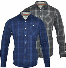 Crosshatch Cotton Long Sleeve Casual Shirts & Tops for Men