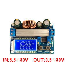 30V 4A LCD Constant Adjustable Automatic Step-Up Down Power Supply Module