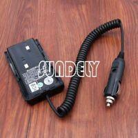 For Kenwood Radio KNB-15A KNB-20N Car Charger Battery Eliminator TK-3107 TK-3102