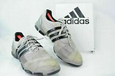 adidas Tour 360 adiprene Mens 12 Soft Spike Lace Up Golf Shoes Gray Black GF86