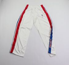 New Vtg Nike 2XL +2 Detroit Pistons Basketball Team Issued Tearaway Game Pants