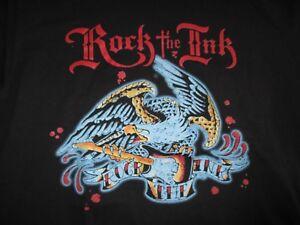ROCK THE INK (LG) Shirt Providence TATTOO Convention GODSMACK TAPROOT SEVENDUST