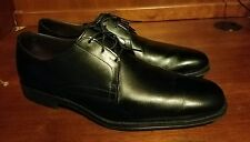 Me Allen Edmonds EMBARCADERO Soft Black Leather Oxford Shoes Size 11 C *USA Made