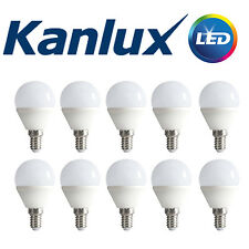 PACK COMMERCE x10 Kanlux Non à variation BILO 6.5W LED E14 Blanc Chaud