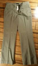 NWT $79.50 Talbot Women's olive stretch cotton blend dress pants size 12 formal