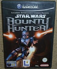STAR WARS BOUNTY HUNTER for NINTENDO GAMECUBE & Wii Boxed Game Disc Instructions