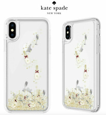 Kate Spade New York Case for iPhone X iPhone XS Bottle Glass Liquid Glitter