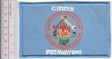 American Indian Tribe Flag Oklahoma Citzen of Potawatomi Nation Seminole Co