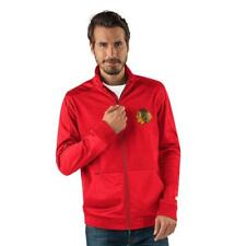 Retail $79 New Chicago Blackhawks Mens Full Zip Track Jacket Size 2XL __S43