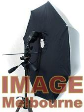 "84cm 33"" PORTABLE SOFTBOX  brollybox flash shoot thru"