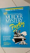MURDER MYSTERY PARTY ON THE S.S. TITANIA DELUXE EDITION FOR 8 PEOPLE