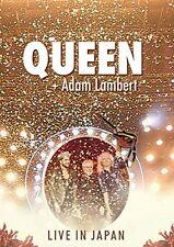 New QUEEN Adam Lambert Live in Japan Summer Sonic 2014 DVD CD