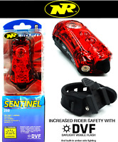 NiteRider Sentinel 250 Lumens Taillight with LASERS USB Recharge Bike Tail Light
