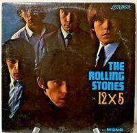 Rolling Stones, 12x5, ORIGINAL 1965 MONO Vinyl LP, LL3402 Maroon - VG Plus!!