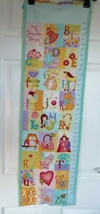 Excellent Condition Alphabet Babies Hanging Wall Chart