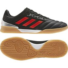 New Adidas Copa 19.3 In Sala Indoor Soccer Leather Shoes Sz 7.5 Black-Red F35502