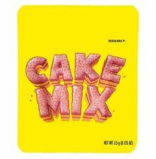 Cake Mix 3.5g Mylar Bags (25)