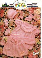 "Jarol 797 Vintage Baby Girl Knitting Pattern DK 4 ply Dress Cardigan Hat 16-22"""