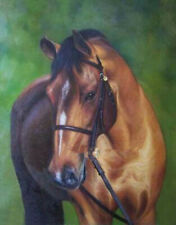 """Hand-painted oil painting:""""Horse In canvas"""" 24x36 Inch 1#"""