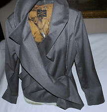 b7a4056353 VIVIENNE WESTWOOD Anglomania 100% Wool Asymmetrical Jacket-Size  42 Medium-Great!