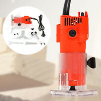 1/4 Inch Wood Trim Router Edge Woodworking Cut Power Tool Electric Hand Trimmer