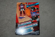 Inferno MOSC Sealed New 1989 Vintage G1 Transformers Action Figure Master HASBRO